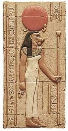 Egyptian Goddess Sekhmet Seichim