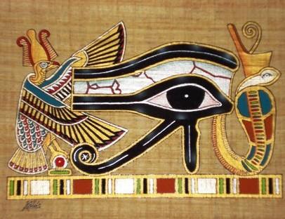 papyrus eye