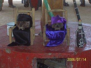 Vodou Ancestral Altar Haiti