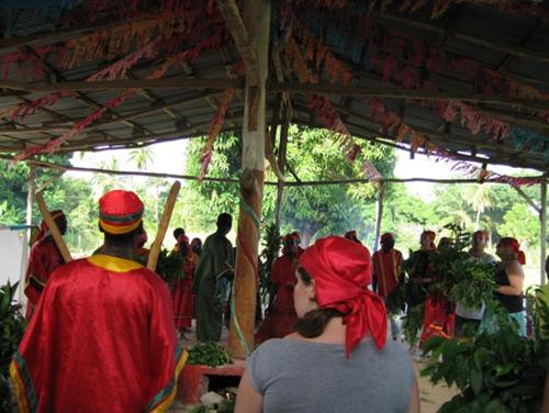 Vodou Ceremony in Haiti