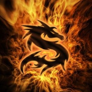 Dragon In Flames Aziz Shamanism