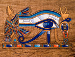 Egyptian magick spells - Eye of Horus painting