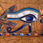 Eye of Horus painting