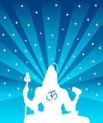 Vedic spiritual empowerment  - Graphic of the Indian god Shiva