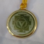 Kali Yantra Locket used as an amulet