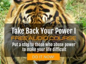 Take Back Your Power I - Free audio course